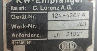 """LORENZ LN 21021 """"Schwabenland"""""""